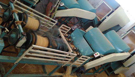Automatic Two Ply Coir yarn Machine